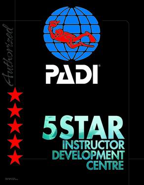 PADI authorized Dive Center